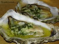 huitres chaudes au beurre d escargot
