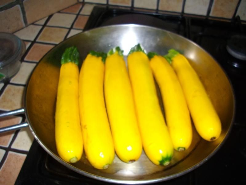 recette courgettes jaunes à la poêle, recette courgettes jaunes à