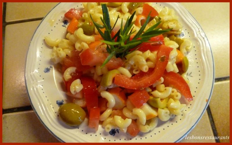 Recette Salade De Pates Au Surimi Recette Salade De Pates Au Surimi
