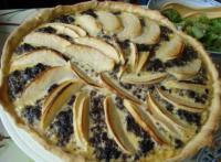 tarte boudin noir