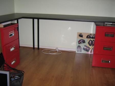 fabrication de notre bureau sur mesure 3 vari t culinaire. Black Bedroom Furniture Sets. Home Design Ideas