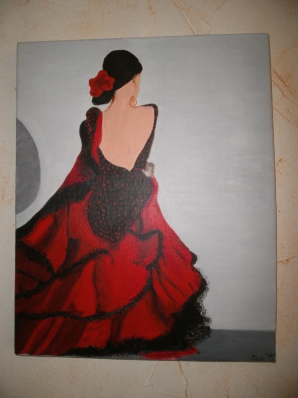 Marieclo marie claude vidot carli bienvenue sur mon blog - Dessin danseuse de flamenco ...