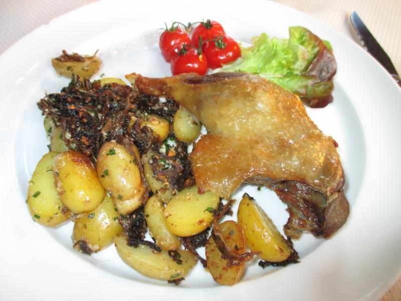 Diner blog de la fontaine bleue - Confit de canard maison ...
