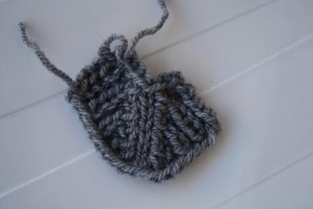 comment tricoter une encolure en v