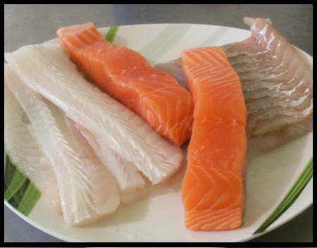 Pain aux 3 poissons aux saveurs de chez moi - Court bouillon poisson maison ...