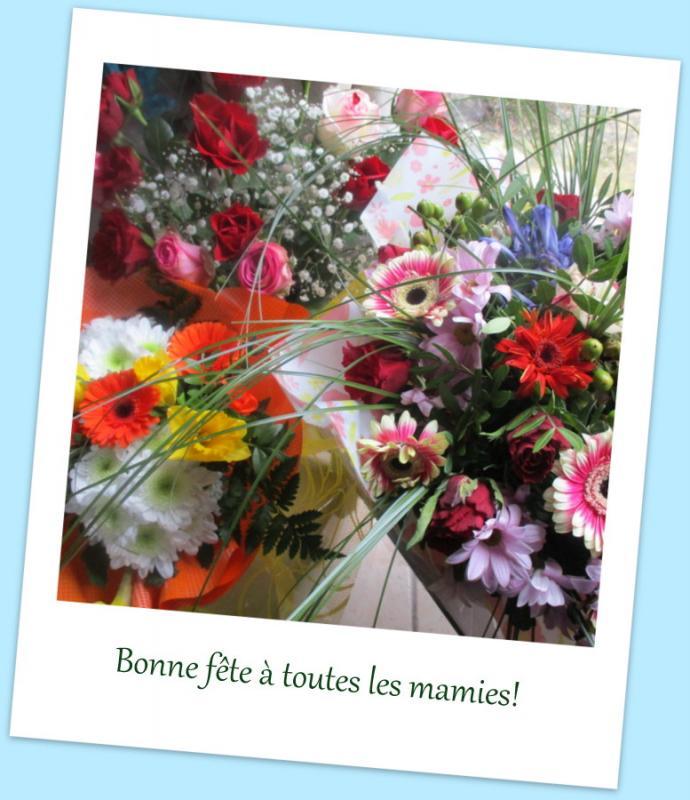 Bonne Fête à Toutes Les Mamies Entre Prés Et Champs