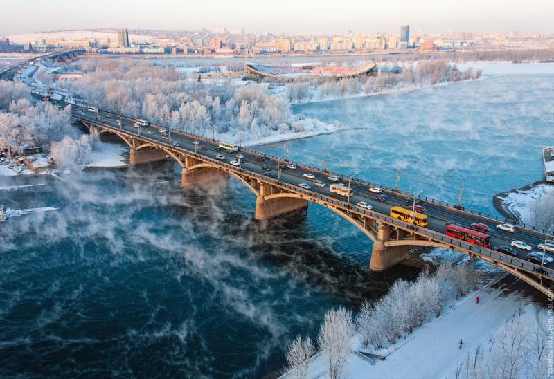 Salopes de la ville de Krasnoïarsk