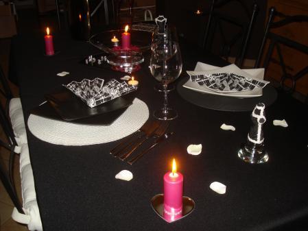 notre soir e saint valentin tout simplement nous. Black Bedroom Furniture Sets. Home Design Ideas