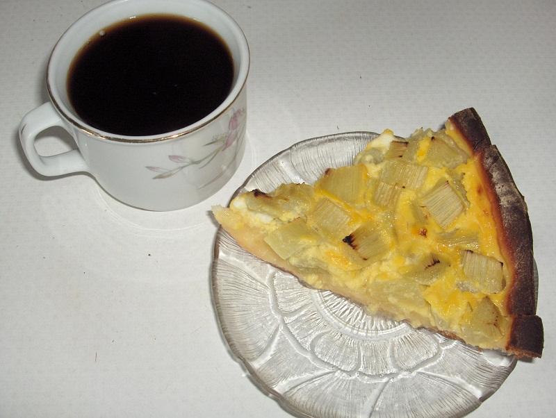 Tarte la rhubarbe cuisine familiale - Blog cuisine familiale ...