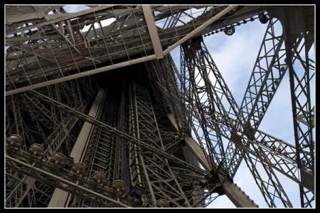 escaliers de la tour eiffel