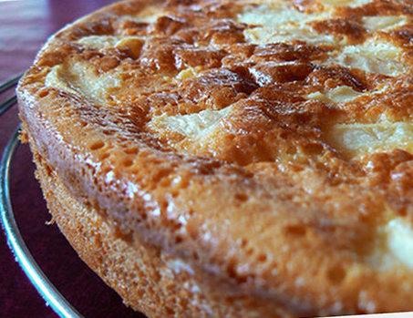 Recette du gateau breton pommes et confiture de lait recettes faciles et en famille - Recette avec confiture de lait ...