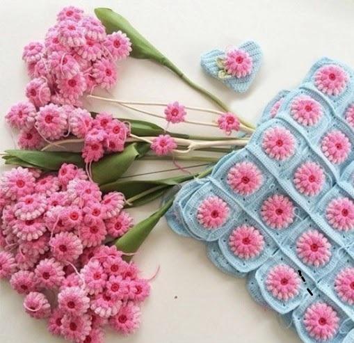 Fleurs Au Crochet Le Monde Selon Ray Zab