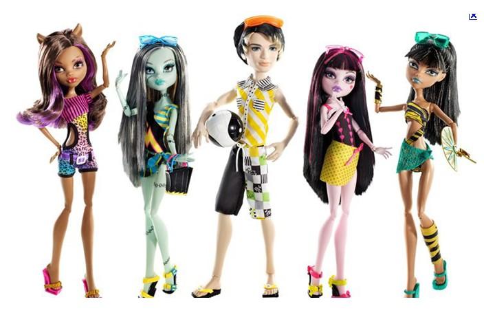 Toute Les Monster High Du Monde