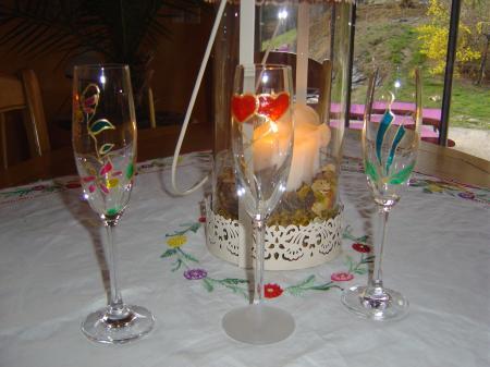 Peinture sur verre bois de rose for Enlever peinture sur verre