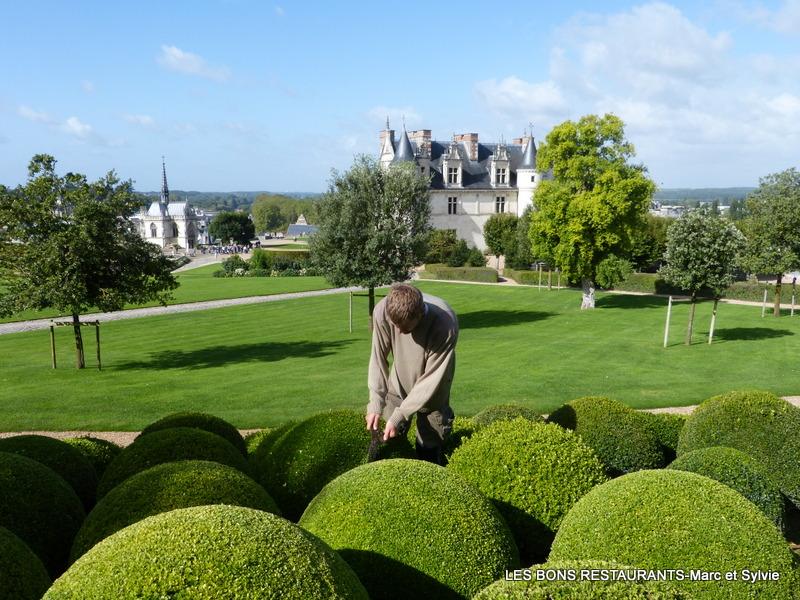 Amboise 37 les jardins du ch teau les jardins paysagers for Jardins paysagers