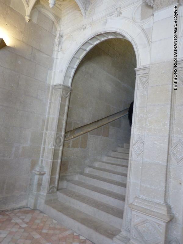 azay le rideau 37 le grand escalier d 39 honneur les bons restaurants. Black Bedroom Furniture Sets. Home Design Ideas