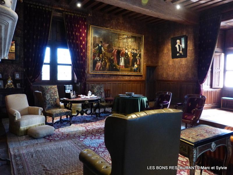 Azay le rideau 37 le salon biencourt les bons restaurants - Restaurant les grottes azay le rideau 37 ...
