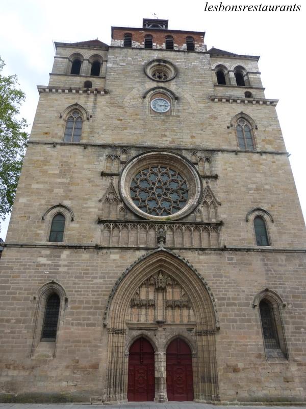 Cahors 46 la cath drale saint tienne les bons restaurants - Cathedrale saint etienne de cahors ...