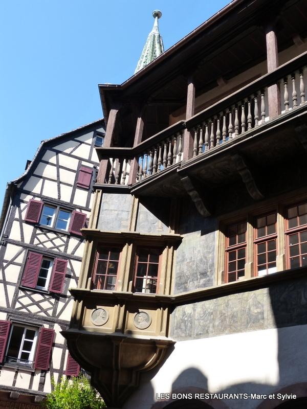 Colmar 68 maison pfister les bons restaurants for Restaurant la maison rouge colmar