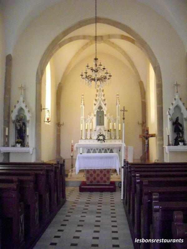 Himeling halling 57 sortie p destre la chapelle saint quirin les bons restaurants - Restaurant porte de la chapelle ...