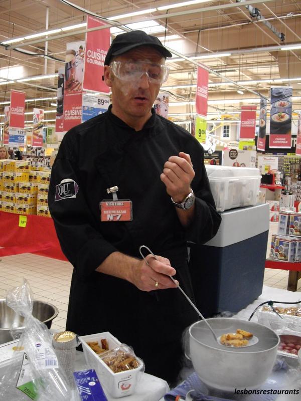 La cuisine mol culaire les bons restaurants for Restaurant cuisine moleculaire lyon