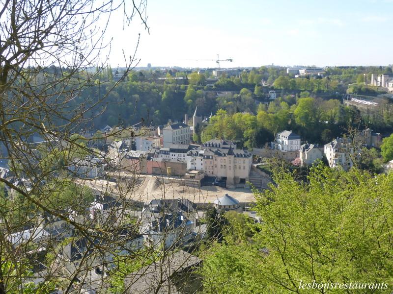 Luxembourg ville lux le plateau du kirchberg les bons - Piscine centre du plateau ...