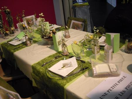 Metz 57 salon cr ativa les bons restaurants - Faire une belle table ...
