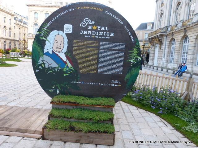 Nancy54 Stan Royal Jardinier Le Jardin éphémère 2016 De