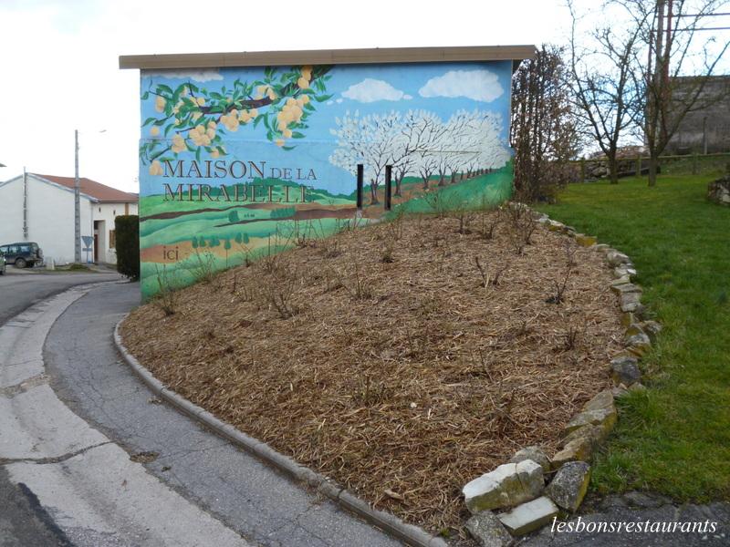 rozelieures 54 peinture murale la maison de la mirabelle les bons restaurants