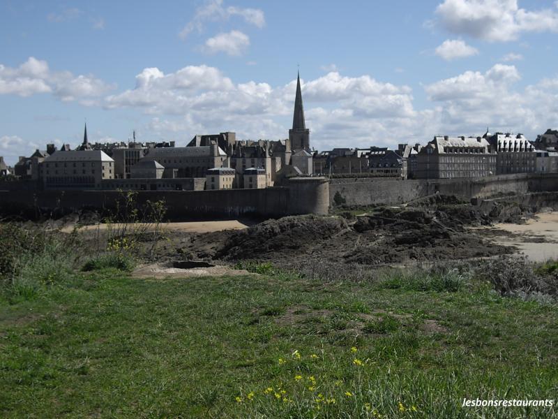 Ecusson Ville Saint Malo