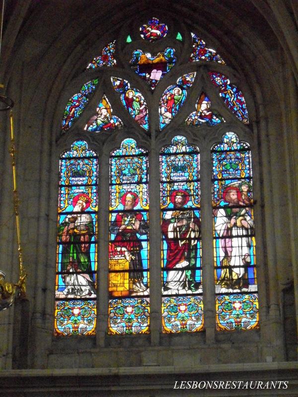 Saint nicolas de port 54 les vitraux de la basilique saint nicolas les bons restaurants - Basilique de saint nicolas de port ...