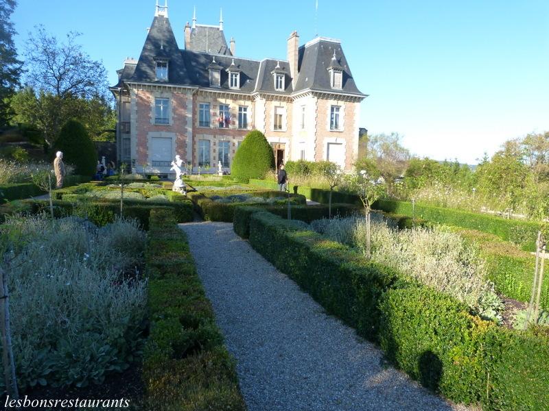 Sampigny 55 le jardin du clos poincar les bons restaurants for Le jardin clos