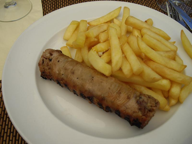 V zelay 89 restaurant la fortune du pot les bons restaurants - Recette andouillette grillee ...