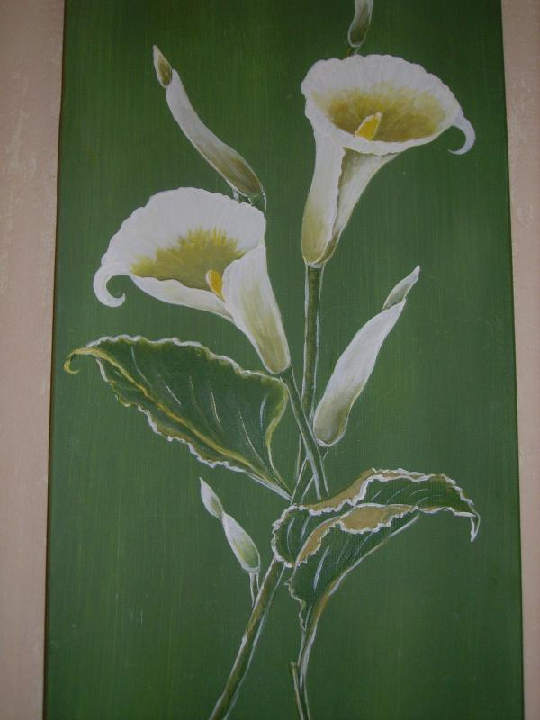 Peinture sur lin campagne ajolaise - Peinture sur lin ...