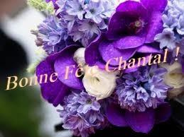 Carte Bonne Fete Chantal.Bonne Fete Aux Chantal Grainedesucre