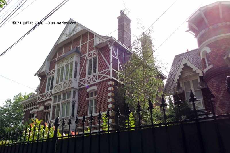 maison hantee lambersart avenue de l'hippodrome