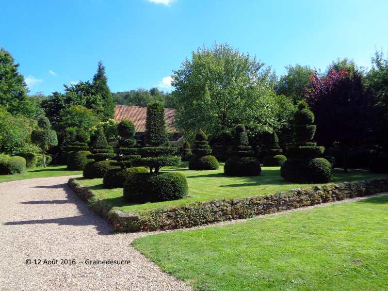 Grainedesucre fran oise hamiau for Le jardin domont