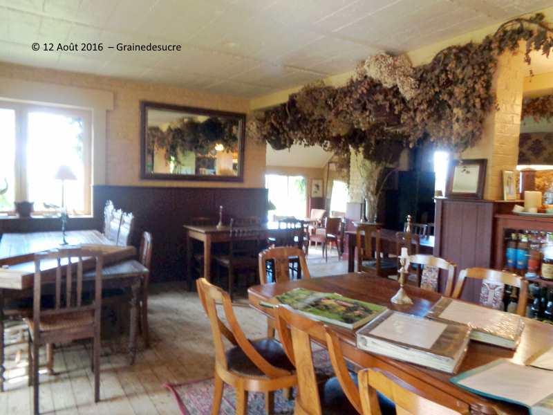 Grainedesucre fran oise hamiau for Restaurant le jardin domont