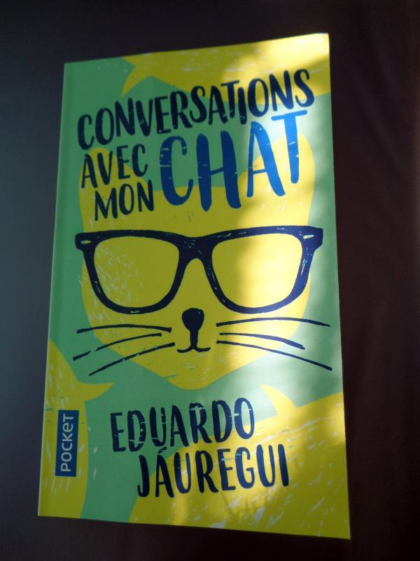 Livre Conversations Avec Mon Chat Grainedesucre