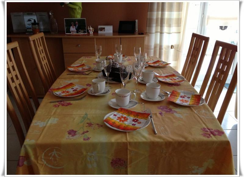Caf avec des amis simple chez christine for Diner avec des amis