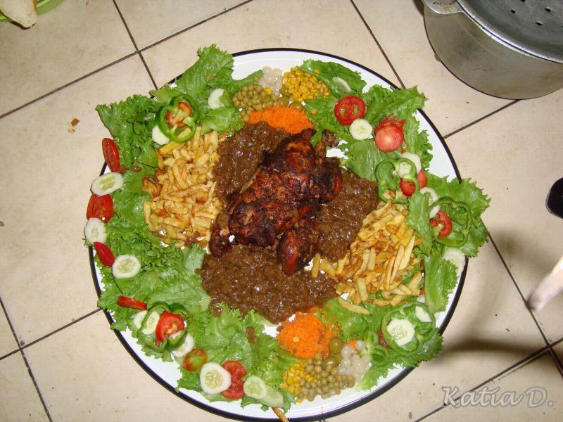 poulet yassa recettes de cuisine sngalaise recipes dishmaps. Black Bedroom Furniture Sets. Home Design Ideas