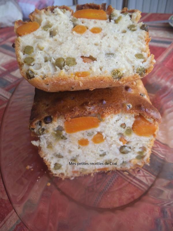 Cake Sal Ef Bf Bd Petit Pois
