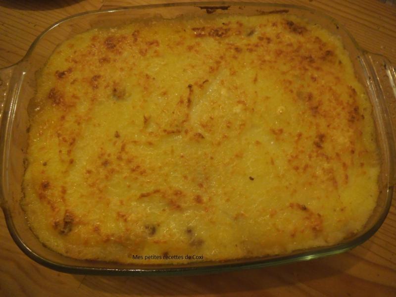Hachis parmentier maison mes petites recettes de coxi - Hachis parmentier maison pour 2 personnes ...
