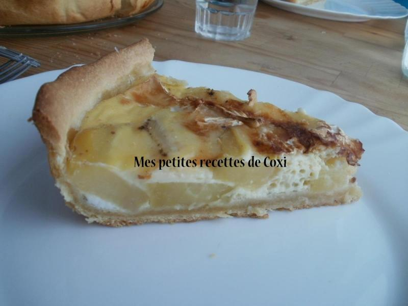 tarte au camembert mes petites recettes de coxi. Black Bedroom Furniture Sets. Home Design Ideas
