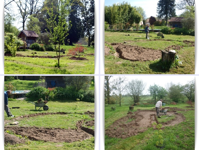 Cr ation du jardin japonais les recettes du mas du loup for Idee creation jardin japonais