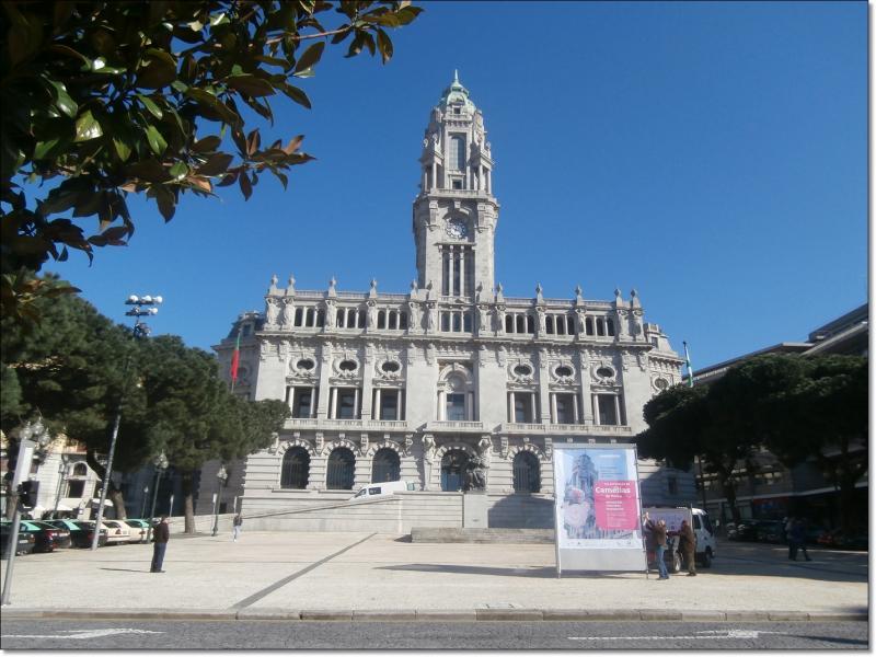 L h tel de ville de porto 33gourmande - Hotel porto portugal avec piscine ...