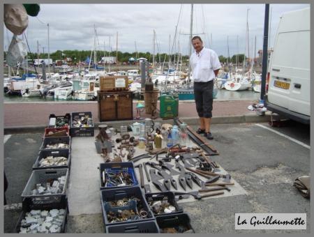 13 juillet brocante au port de meschers la guillaumette - Port de meschers ...