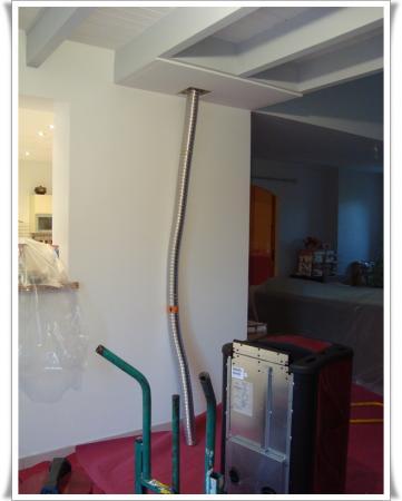 25 novembre 2010 installation du po le granul s la guillaumette. Black Bedroom Furniture Sets. Home Design Ideas