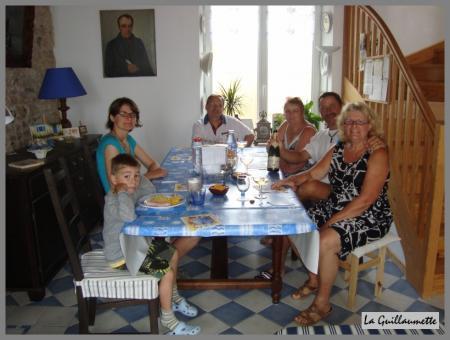 29 juillet 2009 repas avec des amis la guillaumette for Repas avec amis