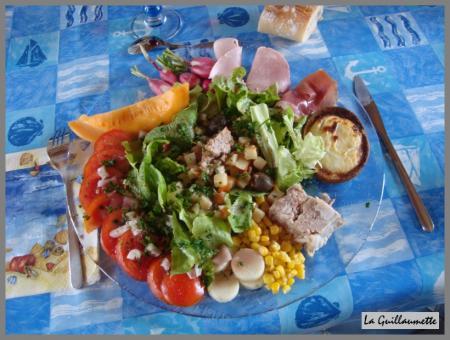 29 juillet 2009 repas avec des amis la guillaumette for Repas avec des amis